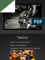 """""""Salina"""" Presentation"""