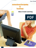 TechTotal ID Case Study Best corporate instructional designing training program