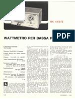 Amtron UK445S - Audio Wattmeter
