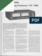 Elv Sw-7000 Stereo Analog Wattmeter