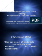 03- Implementing Inquiry & Critical Thinking