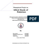 Allied bank Project