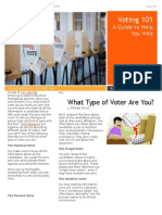 voter newsletter