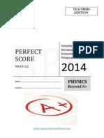 Perfect Score 2014 Ans