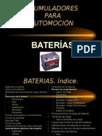 Baterias de Coches