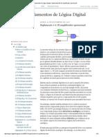 Fundamentos de Lógica Digital_ Suplemento # 6_ El Amplificador Operacional