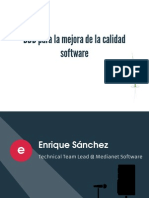 BDD Para La Mejora de La Calidad Software