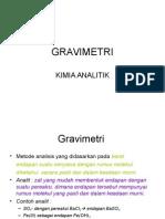 6-GRAVIMETRI