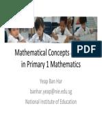 YP Seminar Maths