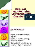 Produktivite Odevi