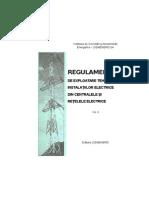 PE 118 - RG de Manevrare in Instalatii Electrice