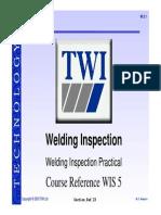 TWI Welding Training