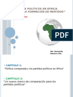 Partidos Políticos en África. ELISCHER