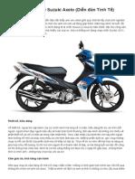 Đánh Giá Sơ Bộ Về Suzuki Axelo (Diễn Đàn Tinh Tế)