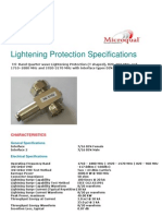 Lightening Protection Din M -Din F Nokia
