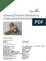 Lightening Protection Din M -Din F Nokia
