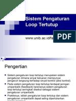 Sistem Pengaturan Loop Tertutup