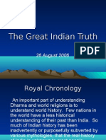 The Great Indian Truth