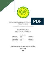 Kerangka Proposal PKM GT 2015