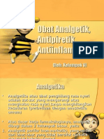 Obat Analgetik, Antipiretik, Antiinflamasi