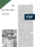 Propiedad, autoridad y cualificacion en el análisis de las clases sociales (PyS 11, 1992)