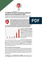 G Data Antivirus Informe de Malware 2009_feb09