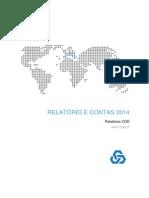 Relatorio Contas CGD 2014
