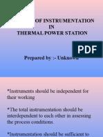 Concept of Instrumentation