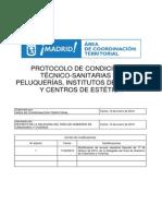 Protocolos centros estetica