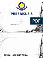 laporan kasus presbikusis