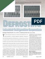 Defrosting Ind. Refrigeration Evaporators