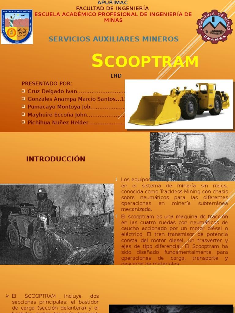 Scoop Tram