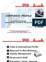 SRB Kluh Corporate Profile