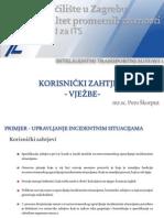 Korisnički zahtjevi (auditorne vježbe)