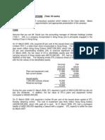 HKICPA QP Exam (Module a) Sep2006 Question Paper