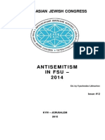 Antisemitism Report 2014 Engl