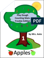 4AS5Z8-Play Dough Counting Mats Freebie Edition