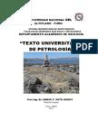 TEXTO UNIVERSITARIO DE PETROLOGIA