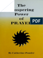 The Prospering Power of Prayer