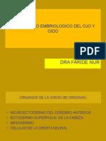 Embriologia OJO y OIDO