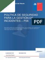 PoliticaGesIncidentesSI P 06v2