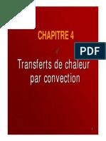 Transferts de Chaleur Par Convection