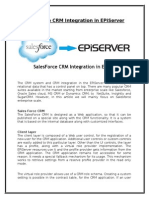 SalesForce CRM Integration in EPiServer