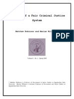 Robinson_williams the Myth of a Fair Criminal Justice System