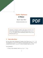 Cubic Splines