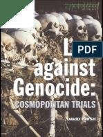 Law Against Genocide Cosmopolitan Trials (Criminology)