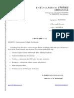 Circolare n. 222 - Convocazione Collegio Dei Docenti