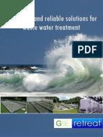GSE retreat Water Brochure