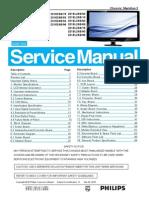 Philips 221e2sb 221el2sb Service Manual