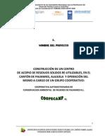 02 Perfil Centro de Acopio Palmares